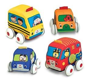 Melissa & Doug K's Kids Pull-Back Vehicle Set