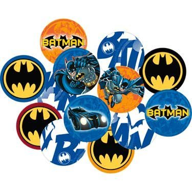 Hallmark 222571 Batman Heroes and Villains Confetti