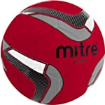 Mitre Attack Soccer Ball, Red/Black/S...