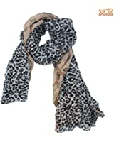 niceeshop(TM) Brand Fashion Leopard Pattern Shawl Scarf Wrap for Women