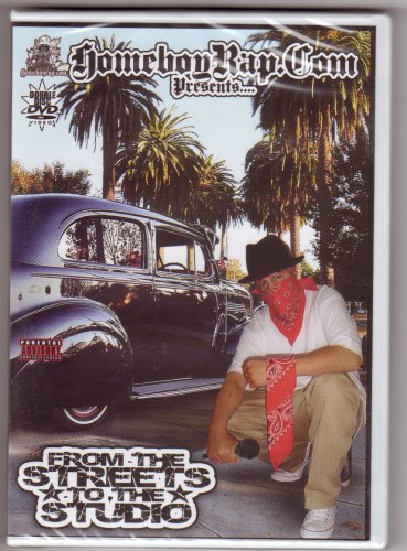 Homeboyrap.com Presents From the Streets to the Studio DVD (Songs From The Loc compare prices)