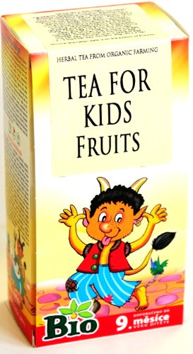Fruit Tea For Children Organic herbal remedies blend