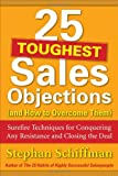img - for 25 Toughest Sales Objections-and How to Overcome Them book / textbook / text book