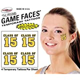 Gold Class Of Temporary Tattoos 25 Sheets S 212 9 S 213 9 S 214 9