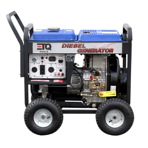 Please Check Your State County And City Laws For Restrictions Before Ordering Gas Powered Engines Generators ETQ 5500 Watt Diesel Generator