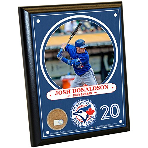 MLB Toronto Blue Jays Josh Donaldson Plaque with Game Used Dirt from Rogers Centre, 8