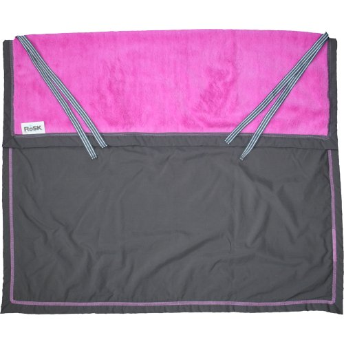 Baby Blanket Rose back-991175