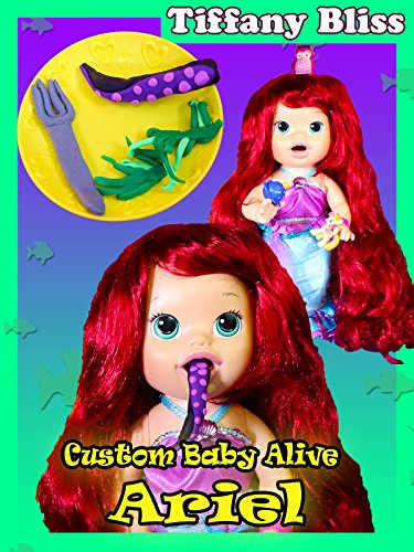 Baby Alive Custom Ariel The Little Mermaid Eats Ursala Tenticles Poops Surprise Blind Bags