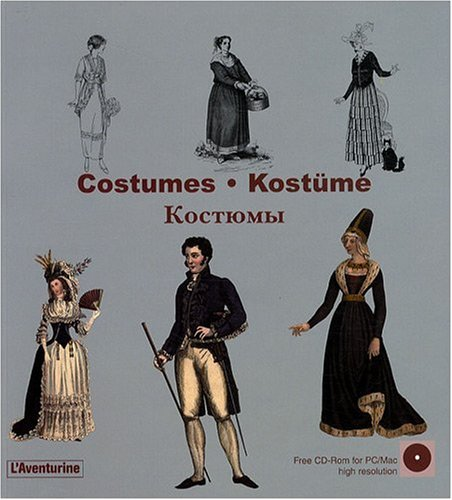 Costumes (Library of Ornament) (Multilingual Edition), CLARA SCHMIDT