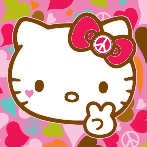 Hello Kitty Butterfly Plush Pillow