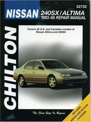 Nissan: 240SX / Altima 1993-98 (Chilton's Total Car Care Repair Manual) (Nissan 240sx For Sale compare prices)