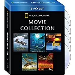National Geographic Movie Collection (Wildest Weather/Flying Monsters/Sea Monsters/Lewis&Clark/Sea Monsters/Forces of Nature) [Blu-ray]
