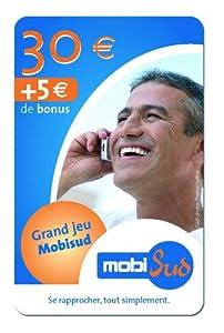 Mobisud Carte prépayée recharge de 30 euros