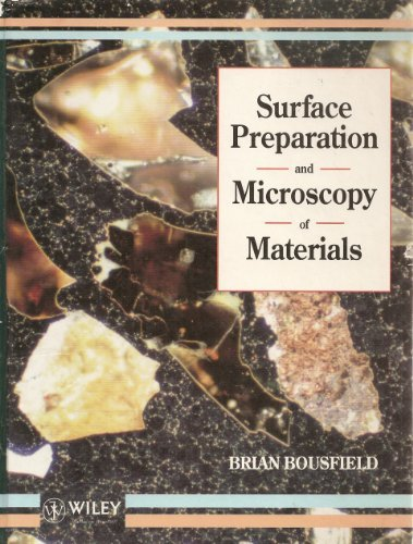Surface Preparation and Microscopy of Materials