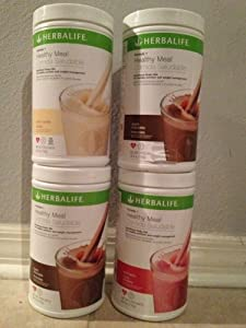 Herbalife Formula 1 Healthy Shake Mix (4 Pack). Save and **No Tax** Choose your own flavors and email them to us.