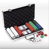51lj09zaZwL. SL160  Pokerkoffer POKER CASE 42 mit 300 Spielchips   Die ultimative Pokergarnitur im stabilen Metallkoffer!