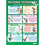 Devising Theatre Techniques Drama Educational Wall ChartPoster in laminated paper A1 850mm x 594mm
