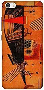 The Racoon Lean Capricious - Kandinsky hard plastic printed back case / cover for Xiaomi Mi 5