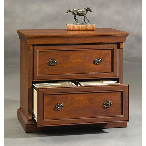 Sauder Arbor Gate 2 Drawer Lateral Wood File Cabinet In Coach Cherry