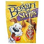 Beggin Strips Dog Snack, Bacon & Beef Flavors, 6 oz (170 g)