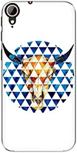 The Racoon Grip Taurus hard plastic printed back case/cover for Htc Desire 830