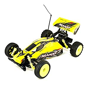 ALEKO® 189111A Ni-Cd Battery Powered Off-Road RC Toy Buggy, Yellow 1/10 Scale