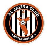 "Al Jazira Club - United Arab Emirates Football Soccer Futbol - Car Sticker - 4"""