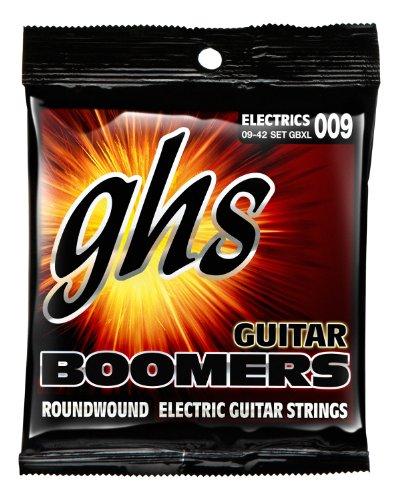 Ghs Strings Electric Guitar Boomer Set (Extra Light Nickel Steel) 9-42