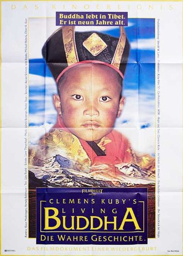 Living Buddha 1994 Original Germany A0 Movie Poster Clemens Kuby Willi Roebke front-1065428