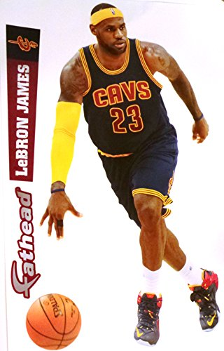 16be0010f6bc NBA Cleveland Cavaliers Lebron James 2014-2015 Fathead - Import It All