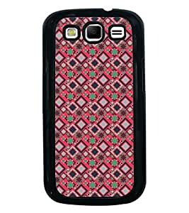 Fuson Premium 2D Back Case Cover pattern checks With Multi Background Degined For Samsung Galaxy S3 Neo::Samsung Galaxy S3 Neo i9300i