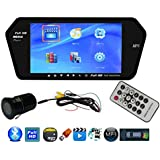 Auto Pearl Premium Quality Full HD Touch Screen Bluetooth LED Screen With Reverse Camera For-All Cars