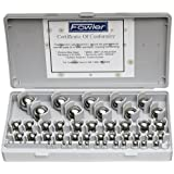 Fowler 52-438-766 Chrome Steel Inch Gauge Ball Set, 52 Piece