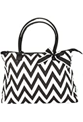 Large Cotton Quilted Chevron Sunflower Paisley Zebra Damask Camouflage Print Tote Bag