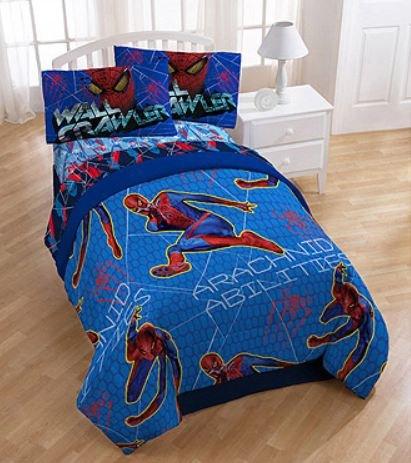 spider man bedding for boy 39 s bedrooms easy kids bedroom