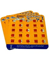 Travel Auto Roadtrip Bingo Vacation Game Family I SPY Set of 3 (Colors may vary)