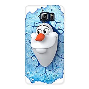 Luxirious Snowy Olfa Multicolor Back Case Cover for Galaxy Note 5