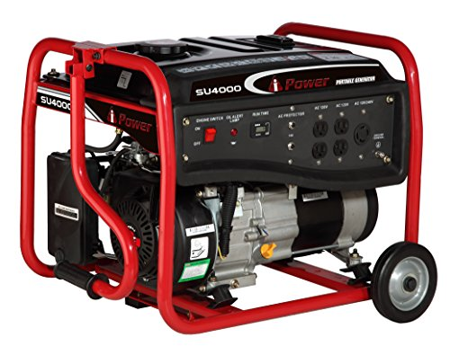 A-iPower A-iPower SU4000-CARB Gasoline Portable Generator, CARB Approved