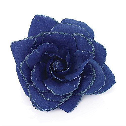 large-royal-blue-glitter-edge-rose-flower-hair-elastic-band-and-beak-clip-fascinator