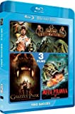 echange, troc Jack Brooks + Grizzly Park + Mega Piranha [Blu-ray]