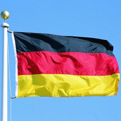 Flag: 90 CM x 150 CM Features: Deutschland Federal Republic of German Flag Germany Flag Nationalfahne Flag by Buddel Bini