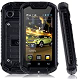 "Discovery Z18 Unlocked Android 4.2 Smartphone Dual SIM Dual Core Outdoor Waterproof Dust-proof 2.45"" Mini Cell Phone (Black)"
