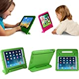 HDE Kids Light Weight Shock Proof Handle Case for Apple iPad 2/3/4 (Green)
