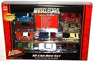 Johnny Lightning Musclecars Muscle Car Limited Edition 10 Car Box Set