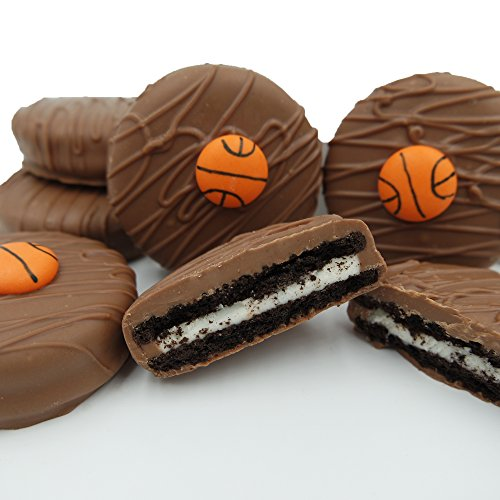 Philadelphia Candies Milk Chocolate Covered OREO® Cookies, Basketball Gift Net Wt 8 oz (Basketball Food compare prices)
