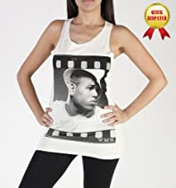 Chris Brown Breezy American Singer R&B Ladies Singlet Vest Tank Top T-Shirt-One Size