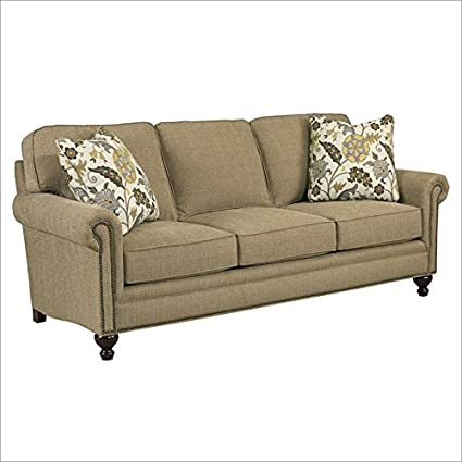 Broyhill Harrison Sofa with Pillows in Wood
