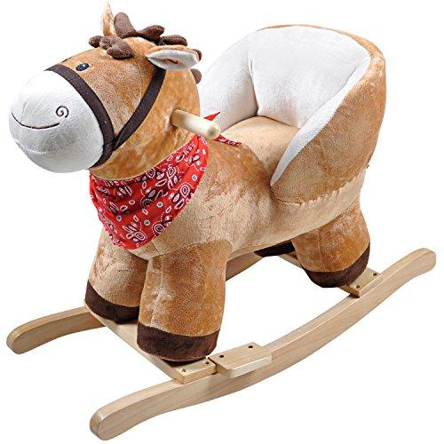 Knorrtoys 40390 Kathy–Balancín, diseño de caballo con sonido