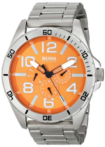 Boss 1512944 - Reloj de cuarzo para hombre, correa de acero inoxidable color plateado