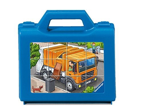 Ravensburger Favorite Vehicles Cube Puzzle (12-Piece)